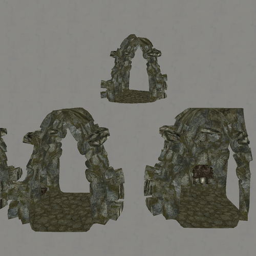 Thumbnail image for Skyrim Dungeon Hallway Props