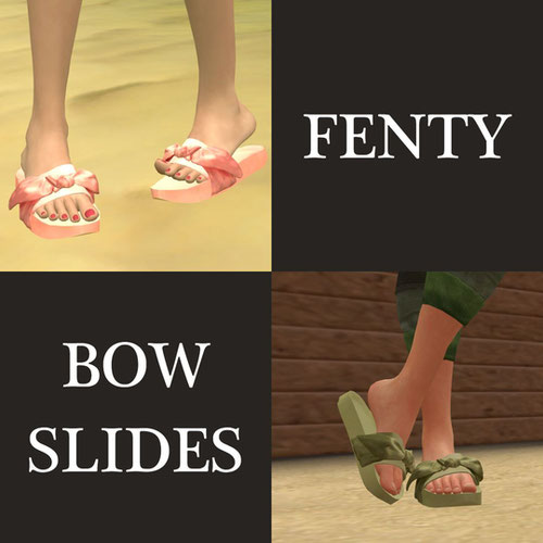Thumbnail image for Fenty Bow Slides