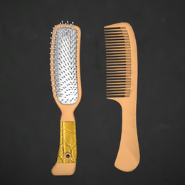 Basic Hair Care Props