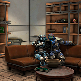 Halo: Reach - Civilian Home Prop Pack