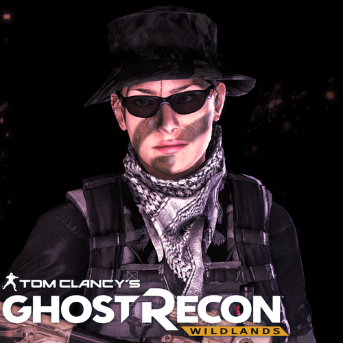 "Thumbnail image for Ghost Recon: Wildlands - Nomad ""Sparky"" Female Player Character (Custom)"
