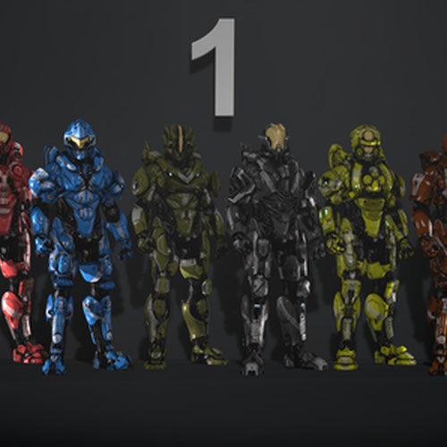 Thumbnail image for Halo 4 Armor Sets Part 1