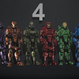 Halo 4 Armor Sets Part 4