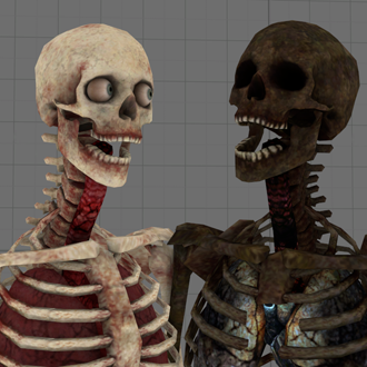Thumbnail image for Skeletons + Body Parts (GMod Conversion)