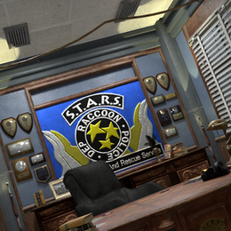 S.T.A.R.S office from resident evil 2
