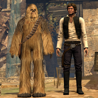 Thumbnail image for Han Solo & Chewbacca