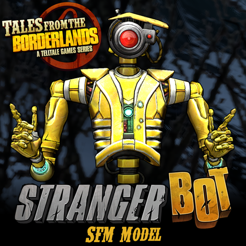 Thumbnail image for Tales from the Borderlands: Strangerbot (a.k.a. Future Loaderbot)