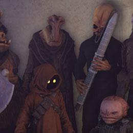 Star Wars Battlefront 2 Background Aliens