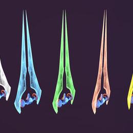 Halo 4 Energy Sword