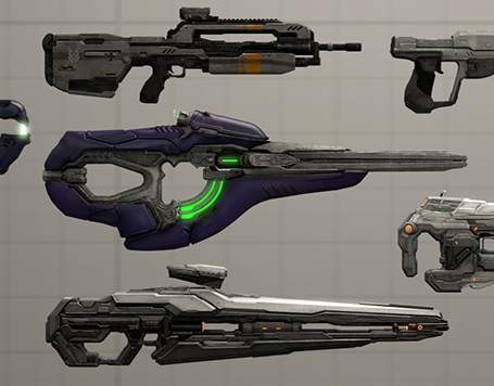 Thumbnail image for Halo 4 - Weapon Pack