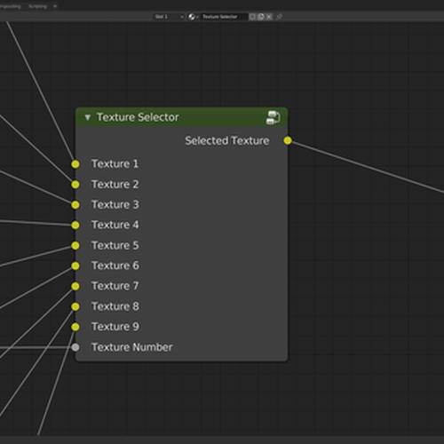 Thumbnail image for [Node] Texture Selector