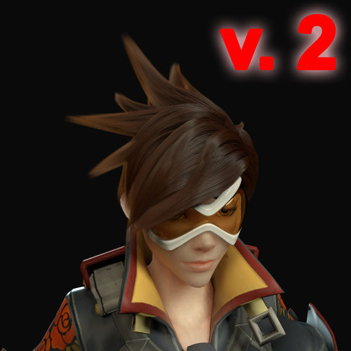Thumbnail image for Tracer - particle hair v.2 (Blender)