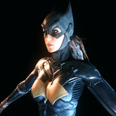Thumbnail image for [Batman AK] Batgirl w/ Nude Butt
