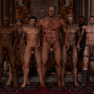 Thumbnail image for Improved nude male models and Hot Raider Piers Nivans