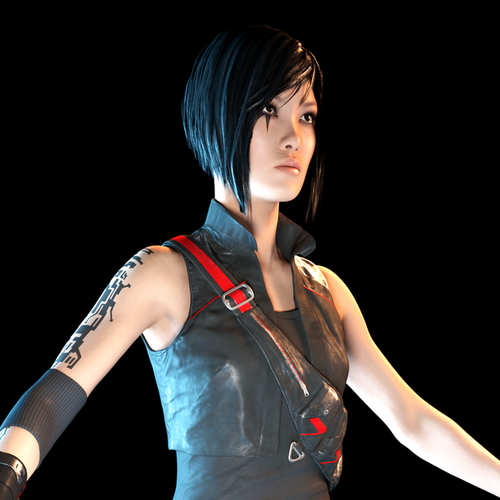 Thumbnail image for [Mirror's Edge: Catalyst]  Faith Connors w/ Pulled Pants & Bare Feets
