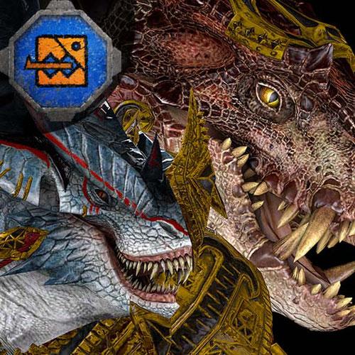 Thumbnail image for Kroq-Gar & Grymloq (Total War: Warhammer 2)