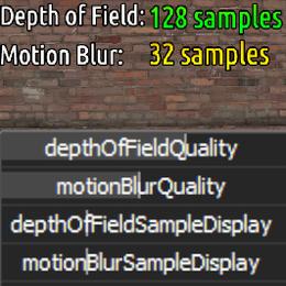 Camera Sampling Animation Script