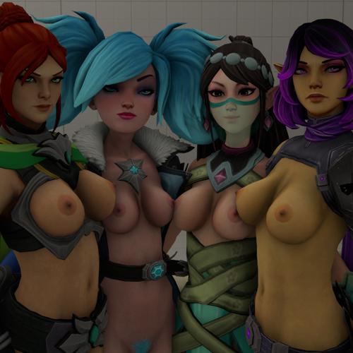 Thumbnail image for Paladins Nude Models