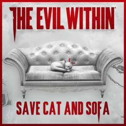 The Evil Within - Save Cat and Sofa
