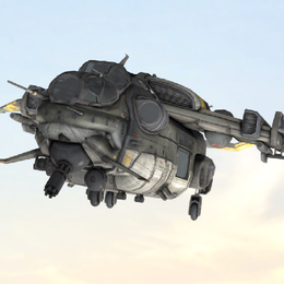 Posable MCOR Dropship (Titanfall 2)
