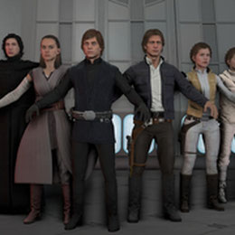 Star Wars: Battlefront 2 WIP models (by ShittyHorsey)