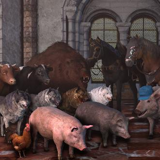 Thumbnail image for The Witcher 3: Wild Hunt Animal Pack