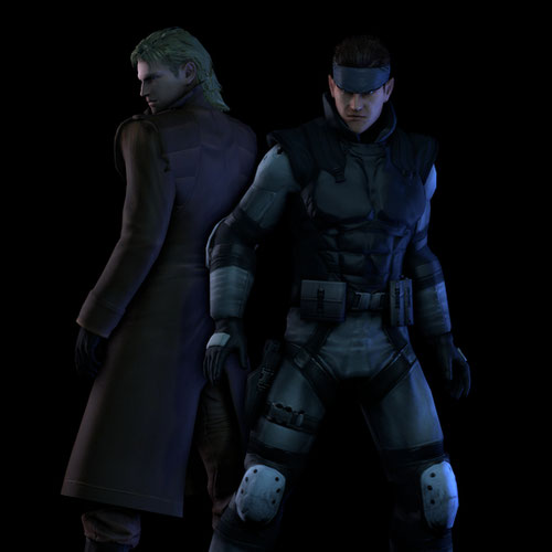 Thumbnail image for The Twin Snakes [Solid Snake & Liquid Snake] (Metal Gear Solid)
