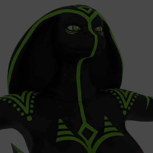 Thumbnail image for Qhala snakegirl