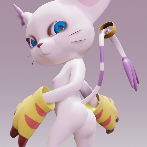 Thumbnail image for Gatomon V1 [BLENDER]