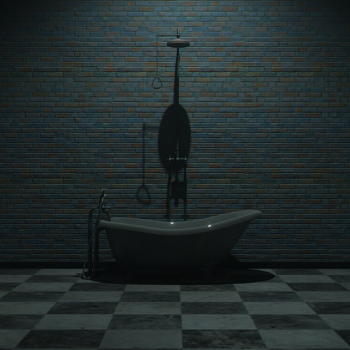 Thumbnail image for Dark bathroom