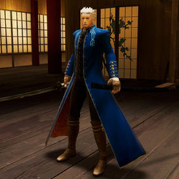 Vergil from Ultimate Marvel vs Capcom 3