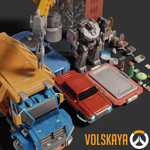 Thumbnail image for Overwatch Props Pack - Volskaya (v1.1)