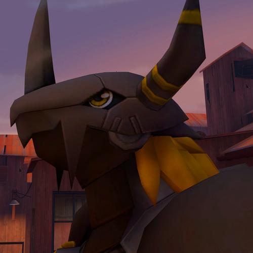 Thumbnail image for Digimon - BlackWarGreymon + ChaosBlackWarGreymon