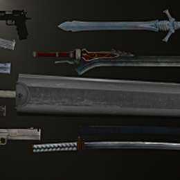 Weapons Pack #1