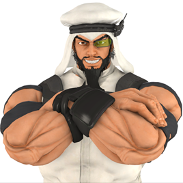 Thumbnail image for Street Fighter - Rashid
