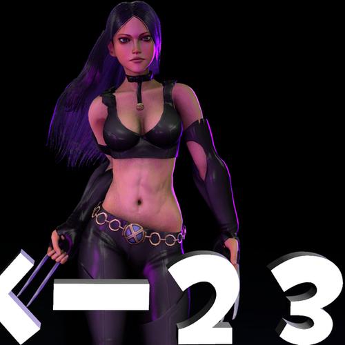 Thumbnail image for (Xelandis) Marvel vs. Capcom X-23