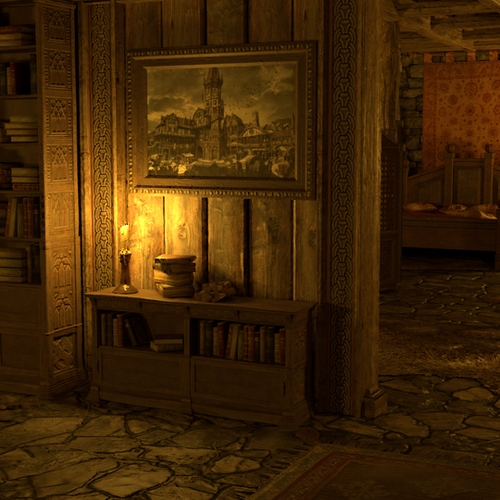 Thumbnail image for Yennefer's room (The Witcher)