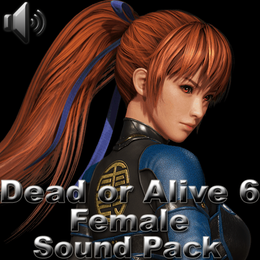 Dead or Alive 6 Female Sounds.