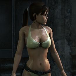 Lara Croft - Bikini (Tomb Raider : Underworld)