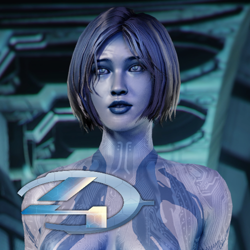 Thumbnail image for Halo 4 - Cortana (original model)
