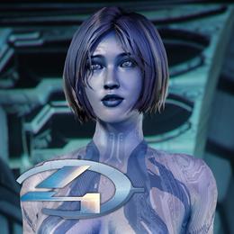 Halo 4 - Cortana (original model)