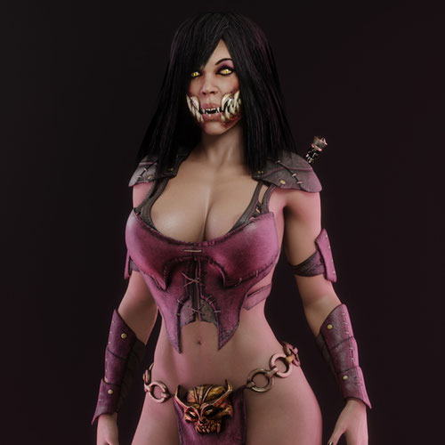 Thumbnail image for Mileena MKX v1.1
