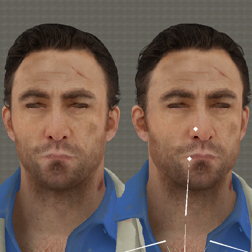 Thumbnail image for Left 4 Dead 2 - Nick with Fixed Eyes