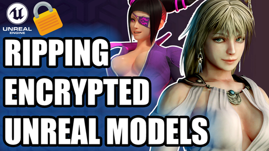 Ripping ENCRYPTED Unreal Engine Models