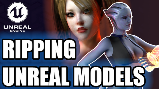 Ripping Unreal Engine Models