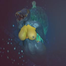 Brute shark (subnautica below zero)