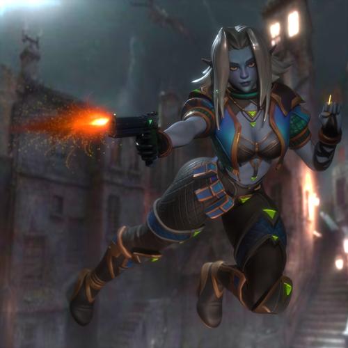 Thumbnail image for Saati (Paladins champions of realm)
