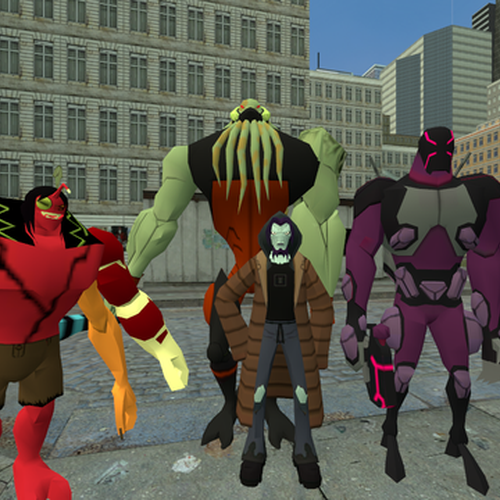 Thumbnail image for Ben 10 protector of earth villains