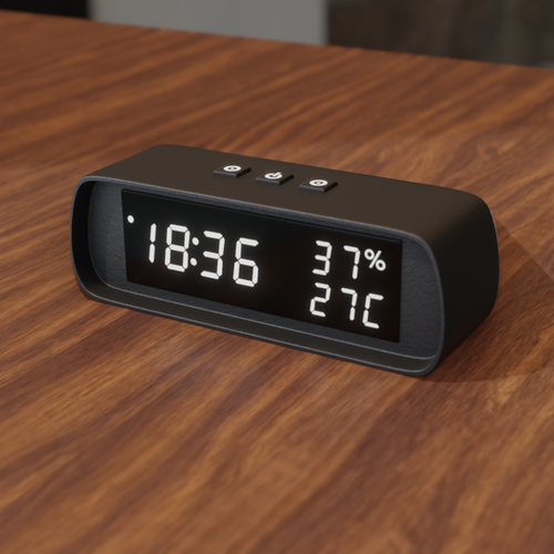 Thumbnail image for Simple Desk Clock