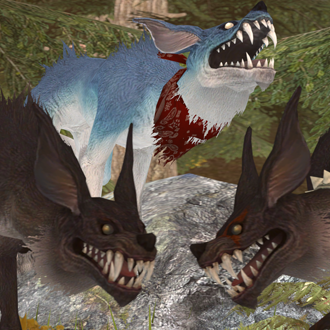 Thumbnail image for Direwolf/Wolf - Final Fantasy XIV